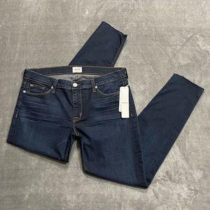 NWT Hudson Krista Super Skinny Raw Hem Jeans!